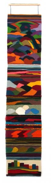 Portière multicolore
